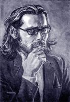 James Callis as Gaius Baltar by thecory