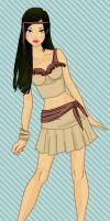 Disney Fashionistas: Pocahontas by keb17