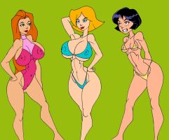 Totally Spies by caglioro3666