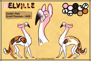 Melville Character Sheet Auction - CLOSED by Karijn-s-Basement