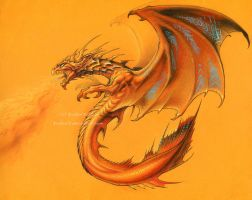 Demoniac Dragon by krukof2