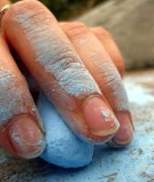 Chalky Hand by l88dizzle