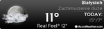 New Look At Accuweather Widget Classic V2 by Slavoo123
