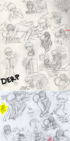 ULTIMATE FORCE BeVinSketchdump by Gray-Sea
