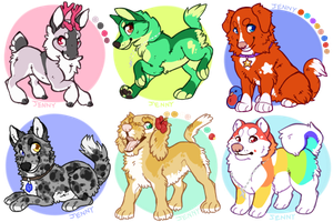 Color Palette Adopts by Kiboku
