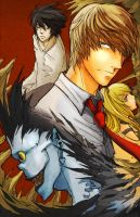death note 11x17 for otakon by jinguj