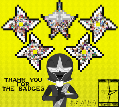 A Ninja Styled Thank You To You Llama Badgers by The-Mobian-Viewer
