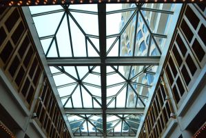 Ceiling Architecture Of A Mall  by jdlegacy1993