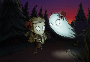 Don't Starve: Wendy by Bielek