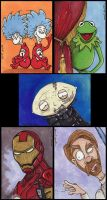 March of Dimes Sketch Cards by FaerieShadows