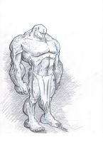 muscle dude by robtheR0B0T