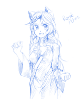 doodling by Rosurin