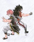 Natsu y Gajeel Cover 35 by EED-Wolf