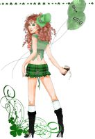 St. Patrick Day 2010 - Digital by Vk-Queen