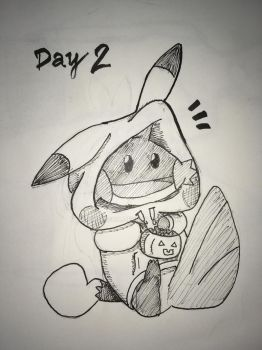 Inktober Day 2 by manngco