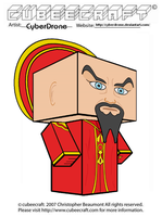 Cubeecraft - Ming The Merciless by CyberDrone