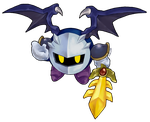 KBY-Meta Knight (games) -Collab- by Mikoto-chan