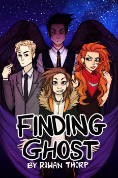 Finding Ghost Webcomic Cover by findingghost