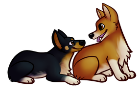 Doggies by SoberDOGS