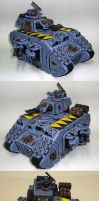 Space Wolves Land Raider Terminus Ultra. by Arastoru