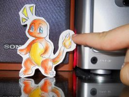 Paperchild 42. Pokemon 4 - Charmander by FuriarossaAndMimma