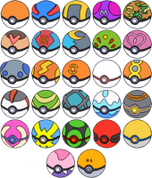 Pokeballs Updated by Shadowgate31