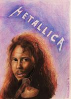 James Hetfield - Metallica by Atompilz94