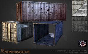 Shipping Containers by BringMeASunkist