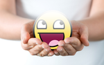 Awesome Smiley Wallpaper 4 by WingedTurt1e