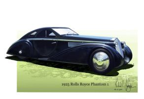 1925 Rolls Royce by onthesquare