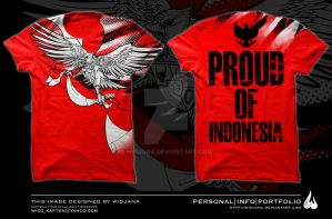 proud of indonesia by widjana