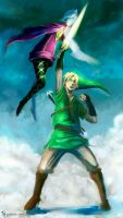Skyward Sword: Speed Paint by Tekamza