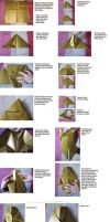 Loki origami helmet diagrams by WindMermaid