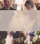 Matthew and Mary Downton Abbey gif by Miss-deviantE