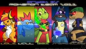 Arbok_X's Pokemon Team 2011 by Arbok-X