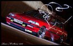 Civic Light paint 1 by BadassDesigns