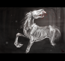 ghost horse by radioactivated