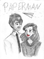 Paperman by amivan