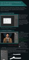 Photoshop Basics Guide by GloriousRyan