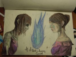 If I touch a burning Candle by all-the-lovely-death