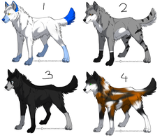 Adopt a wolf -Open- by Adopt-A-Char
