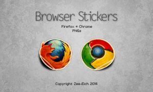 Browser Stickers by Zee-Eich