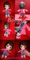 chibi girl plush version by Momoiro-Botan