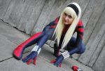 Spider-Girl meets Gwen Stacy by burningdreams76