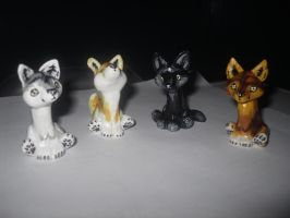 Wolf Pack - Customizable Wolf by latent-ookami