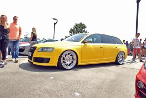 RACEISM Event 2014 - Audi RS6 Yellow v2 by 2micc