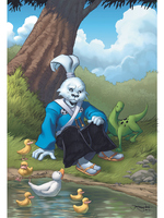 Usagi Yojimbo 30th Anniversary Artbook BCCC 2013 by thejeremydale