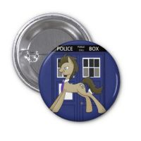Tardis Badge by spot1the2dog3