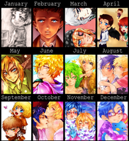 2013 art summary by kandismon
