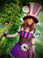 Caitlyn Cosplay from League of Legends 2 by HoroVonKaida